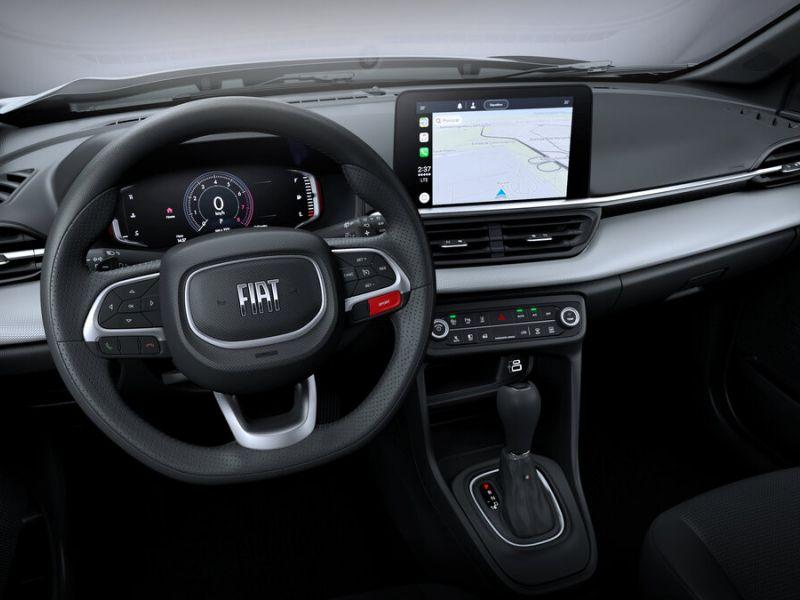 Fiat mostra o interior do Pulse, que terá painel digital